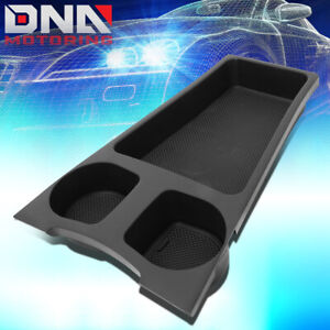 For 2010 2015 Toyota Prius Front Center Console Organizer Box Cup Holder Insert