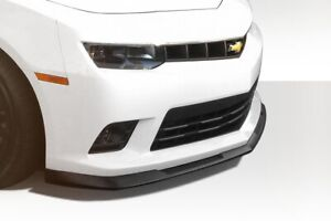 V8 Gm X Front Lip Under Air Dam Spoiler 1 Piece Fits Chevrolet Camaro 14 15