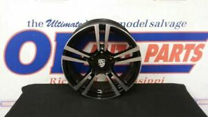 11 12 Porsche Cayman 987 Oem Alloy Wheel 19x8 Option I421 Turbo 2