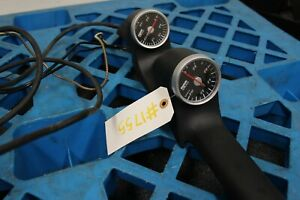 Jdm Used Hks Boost And Water Temp Guages Inlcudes Guage Pod For Rhd Sti