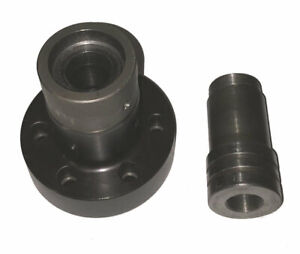 5c A2 5 Spindle Nose Piece Collet Chuck W Hardinge Step Chuck Closer