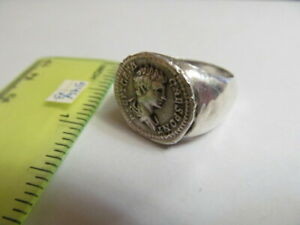 Ancient Silver Ring From Geta Rome 546 3 Copy