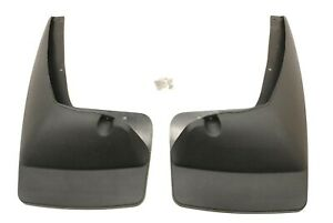 New Oem Gm Front Molded Splash Guards Mud Flaps 19212820 Chevy Gmc Suv 2007 2014