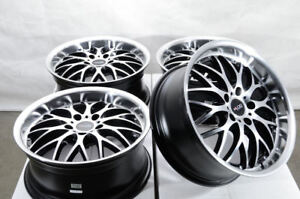 17 5x120 Black Wheels Fits Bmw 135 320 328 325 Z3 Z4 X1 X3 X5 Malibu Xdrive Rims