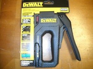 Dewalt Dwht80276 Carbon Fiber Composite 2 In 1 Tacker Staple Gun New