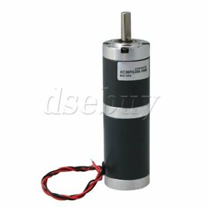 Dc Electric Motor Planetary Geared Motor 12v 6 Rpm Speed Reduction Gear Box