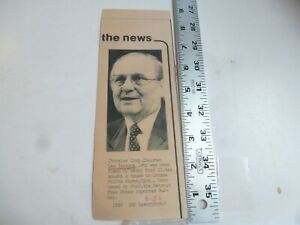 Vintage Wire Press Photo Lee Iacocca Once Fired By Henry Ford II 6 1986 $17.00