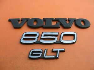 93 94 95 96 97 Volvo 850 Glt Rear Trunk Lid Emblem Logo Badge Sign Symbol Oem 5