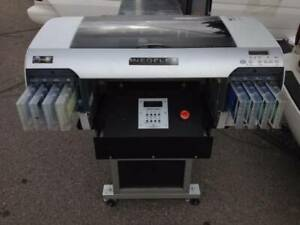 Neoflex Dtg T shirt Printer W Table Heat Press Software Forms Supplies