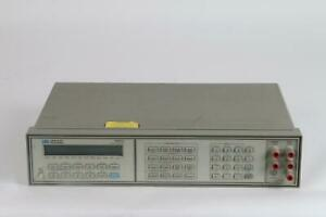 Hp 3457a Agilent Digital Dmm With Extended Resolution Dcv Auc Dci Aci Ohms