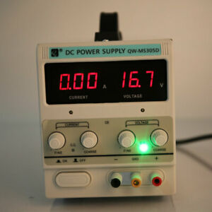 Qw ms305d 30v 5a Adjustable Dc Stabilizer Power Supply us Standard Us Stock