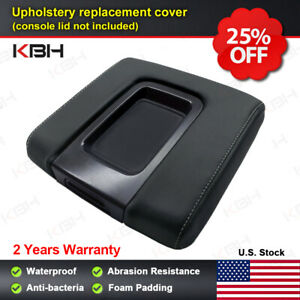Oem Console Lid Replacement Cover Chevy Silverado Gmc Sierra 14 18 Gray Stitch