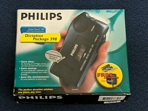 Philips Pocket Memo 398 Dictation Package With Accessories