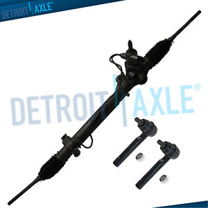For Subaru Impreza Forester Power Steering Rack And Pinion Outer Tie Rods