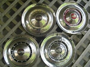 1954 54 Chevrolet Chevy Impala Bel Air Nomad Wheel Covers Hubcaps Center Caps