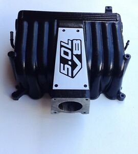 Ford Explorer Gt 40 Upper Intake Manifold Powder Coated no Egr Type