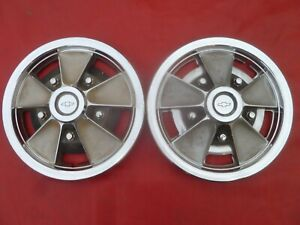 Vintage 1965 66 Chevy Z16 Chevelle L79 Mag Wheel Hubcaps Wheel Covers
