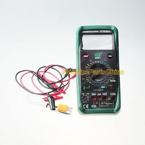 New Dy2201 Automobile Automotive Repairing Multimeter Meter 40 C 1000 C 1 3