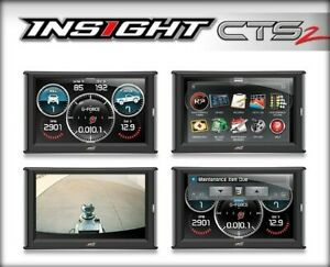 New Edge Insight Cts2 Gauge Monitor For 1996 2018 Ford Dodge Jeep Gmc Chevy