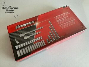 New Snap On 34 Pc 1 2 Drive Metric General Service Set Over 1k 334atwmtsm