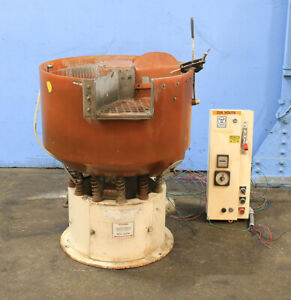 2 5 Cu Ft Sweco Fmd 2 5lr With Internal Parts Separator Vibratory Finisher Ro