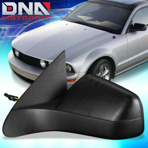 For 2008 2011 Ford Focus Oe Style Manual Left Side Door Mirror 8s4z17683aa pfm