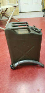 Vintage Us Army Metal Gas Jerry Can Military Fuel 5 Gallon Icc5l 20 5 50 With Sp