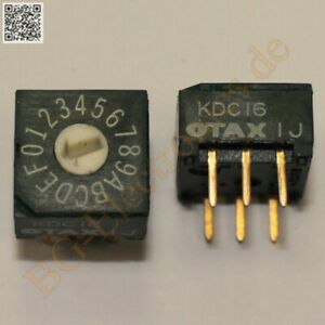 1 X Rot dip Switch Kdc16 Rotary Digital Coded Dip Switches Otax Dip 6 1pcs