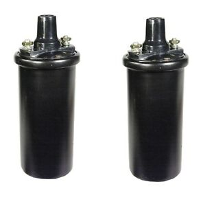 Set Of 2 Ignition Coils Acdelco With External Resistor For Vespa 400 2l 58 61