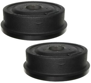 Pair Set Of 2 Rear Brake Drums Acdelco Pro For Ford Ranger 10 X 2 1 2 Brakes