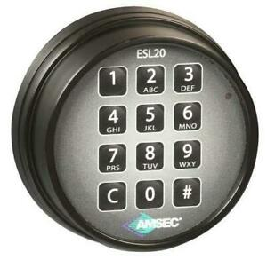 Amsec Esl20xl Electronic Safe Lock
