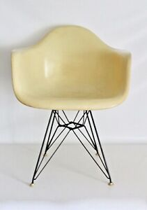 Eames Herman Miller Vtg Mid Century Modern Eiffel Tower Zenith Arm Shell Chair