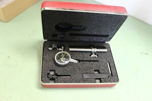 Starrett Dial Test Indicator With Accessories a b c d model B709acz