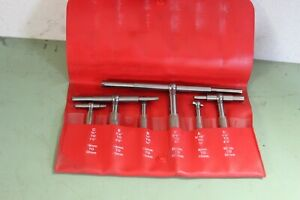 6pc Starrett Telescoping Gages S579h Snap Gage Millwright Machinist 436 196 657