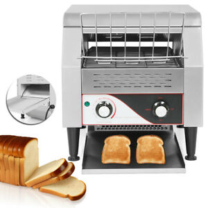 New 2 2kw Commercial Conveyor Toaster Restaurant Equipment Bread Bagel Food