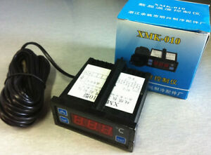 1pc New Xmk 010 Double Limit Digital Display Temperature Controller w5155 Wx