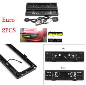 Euro Electric License Plate Stealth Car Number Roller Shutter Protect Cover