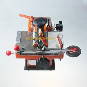 2mm Label Semi automatic Sheet Embosser Metal Stamping Printer Marking Machine