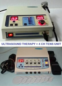 Ultrasound Therapy Pain Relief Therapy Electrotherapy Machine Combo