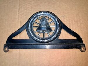 Automobile Club Of Southern California Good Roads License Plate Topper Vintage