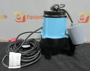 Little Giant 10sn cia rf Submersible Automatic Sewage Pump 1 2 Hp
