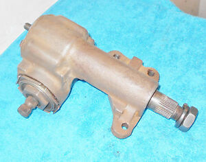 1967 1968 1969 70 Mustang Mach 1 Shelby Cougar Orig Gt M S P S Steering Gear Box
