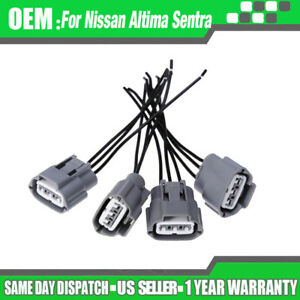 4pcs Set Ignition Coil Wiring Harness Connectors For Nissan Altima Sentra Pack
