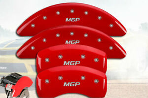 2017 2019 Mercedes Benz Gle43 Amg Coupe Front Rear Red Mgp Brake Caliper Covers