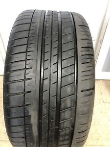 1 Used 275 30r20 Michelin Pilot Sport 3 Zp Run Flat 97y 8 32sec
