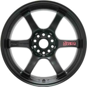 Gram Lights 57dr 18x8 5 5x114 3 37mm Semi Gloss Black Wheel Wgiv37eh