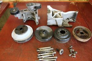 Chevy 350 Single Serpentine Pulley Conversion Setup Sbc