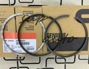 Full Mset 6 Standard Piston Rings 89 98 Dodge Cummins 6b 6bt 5 9 12v 3802421 Std