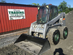 2003 Bobcat A220 Skid Steer Loader W Cab Only 2500 Hours Coming Soon
