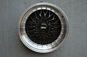 Set Of 4 Wheels 18 Inch Black With Polish Lip Rims Fits Plymouth Voyager 2000